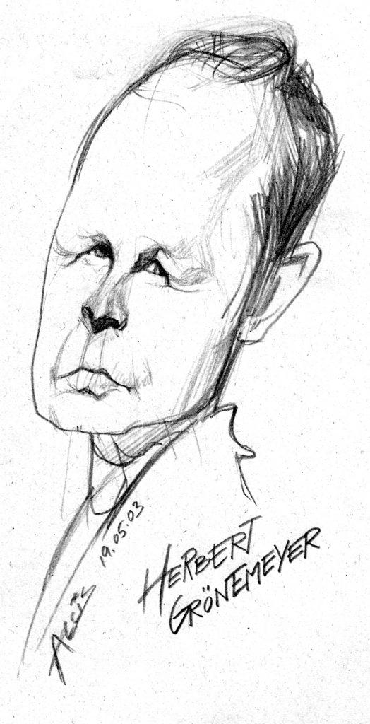 Portrait, sw, Bleistift